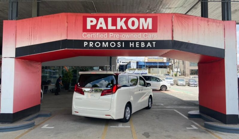TOYOTA ALPHARD 2.5 X YEAR 2018 full
